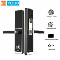 US $172.0 |Genuine Xiaomi Aqara Smart Lock Mi Door Touch Electronic Lock Live Fingerprint Unlock Password App Control for Home Security-in Smart Remote Control from Consumer Electronics on Aliexpress.com | Alibaba Group