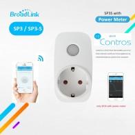 Broadlink sp3s W Мощность метр/sp3 contros ЕС Беспроводной Wi Fi умная розетка таймер Мощность Plug 16a IOS Android Дистанционное управление outlet купить на AliExpress