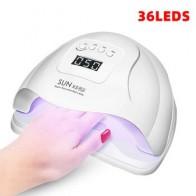 SUN X5 Plus УФ светодиодная лампа для сушки ногтей 36/12 светодиодов ЖК-дисплей ледяная лампа для маникюра гелевая лампа для сушки ногтей лампа для...