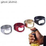 6.55 руб. |1 шт. 22 мм новое поступление креативный Универсальный разноцветный из нержавеющей стали палец кольцо форма пивная бутылка открывалка-in Открывалки from Дом и сад on Aliexpress.com | Alibaba Group