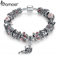 US $4.08 35% OFF|BAMOER Drop Shipping Fish Charm Bracelet Tibetan Silver Murano Glass For Women Fashion European Style Jewelry PA1236-in Strand Bracelets from Jewelry & Accessories on Aliexpress.com | Alibaba Group