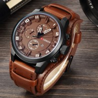 US $14.83 47% OFF|Curren 8225 Army Military Quartz Mens Watches Top Brand Luxury Leather Men Watch Casual Sport Male Clock Watch Relogio Masculino-in Quartz Watches from Watches on Aliexpress.com | Alibaba Group