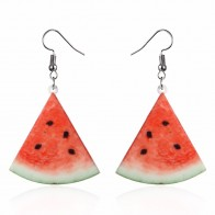 US $0.6 37% OFF|Punk Summer Fashion Style Candy Big Acrylic Dangle Earring Party Jewelry Drop Earrings for Women Watermelon Fruit Long Earring-in Drop Earrings from Jewelry & Accessories on AliExpress