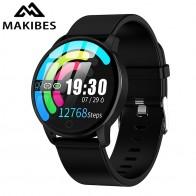 Makibes T5 PRO усовершенствованный Миланский Магнитный фитнес обруч-трекер Смарт-часы монитор артериального давления Смарт-часы модные PK Q8 браслет - Умные часики