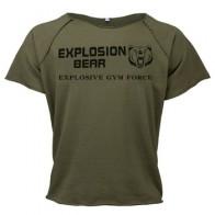 Muscleguys Летняя мужская футболка с круглым вырезом, хлопковые топы, одежда для тренажерных залов, футболки для фитнеса, мужские футболки для бо...