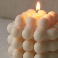 INS популярная современная Штабелируемая свеча, 3D молочные свечи, декоративная 3D Свеча в скандинавском стиле для образцов из соевого и пчели... - Свечи и уют