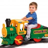 Электропоезд Peg Perego Santa Fe Train IGED1071 - Детские электромобили