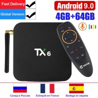 1502.68 руб. 26% СКИДКА|TX6 Smart Android tv Box 4 ГБ 32 ГБ Android 9,0 tv Box 4 K Allwinner H6 quad core USD3.0 двойной Wifi проигрыватель google Youtube pk TX3 max-in ТВ-приставки from Бытовая электроника on Aliexpress.com | Alibaba Group