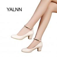 1127.34 руб. 56% СКИДКА|YALNN/Новинка; женские туфли лодочки на высоком каблуке с пряжкой; пикантные вечерние туфли для невесты на толстом каблуке с острым носком; обувь на высоком каблуке для девочек-in Женские туфли from Туфли on Aliexpress.com | Alibaba Group