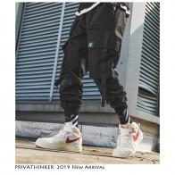 1345.09 руб. 39% СКИДКА|Privathinker мужские брюки карго в стиле хип хоп с ремнем, 2019 мужские комбинезоны в стиле пэчворк, японские уличные штаны для бега, мужские дизайнерские штаны шаровары-in Брюки карго from Мужская одежда on Aliexpress.com | Alibaba Group