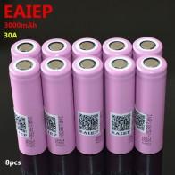482.76 руб. 10% СКИДКА|EAIEP 100% оригинальный новый для INR 18650 30Q батарея 3,7 в 3000 мАч INR18650 30Q литий ионные аккумуляторы-in Подзаряжаемые батареи from Бытовая электроника on Aliexpress.com | Alibaba Group