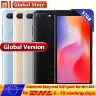 US $104.99 |Global Version Xiaomi Redmi 6 3GB 32GB Mobile Phone  P22 Octa Core 5.45