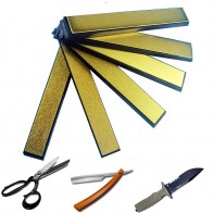 1158.56 руб. 10% СКИДКА|Точилка для ножей titanium diamond точильный камень для Ruixin Apex edge запасная точилка отточить камень купить на AliExpress
