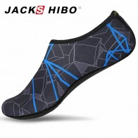 320.98 руб. 10% СКИДКА|JACKSHIBO/Летняя обувь для плавания, Мужская обувь для плавания, пляжная обувь, большие размеры, кроссовки для мужчин в полоску, цветные zapatos hombre купить на AliExpress