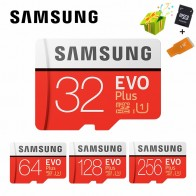 US $4.28 40% OFF|SAMSUNG Microsd Card 256G 128GB 64GB 32GB 16GB 8GB 100Mb/s Class10 U3 U1 SDXC Grade EVO+ Micro SD Card Memory Card TF Flash Card-in Micro SD Cards from Computer & Office on Aliexpress.com | Alibaba Group