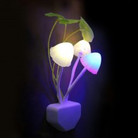 63.38 руб. 24% СКИДКА|Гриб лампа грибок ночник ЕС и США штекер свет датчик AC110V 220V 3 светодиодный разноцветный гриб светодиодный лампа светодиодные ночники для ребенка купить на AliExpress