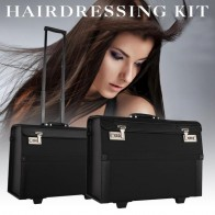 US $114.24 49% OFF|Big Open Hair Toolbox Hairdryer Comb Clip Styling Storage Hairdresser Trolley Box Hair Tools-in Styling Accessories from Beauty & Health on Aliexpress.com | Alibaba Group