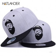 [HATLANDER]Original grey cool hip hop cap men women hats vintage embroidery character baseball caps gorras planas bone snapback-in Baseball Caps from Apparel Accessories on Aliexpress.com | Alibaba Group