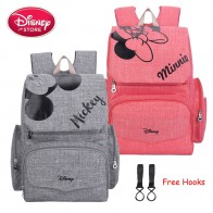 US $17.84 20% OFF|Disney Mummy Diaper Bag Maternity Nappy Nursing Bag for Baby Care Travel Backpack Designer Disney Mickey Minnie Bags Handbag-in Diaper Bags from Mother & Kids on AliExpress