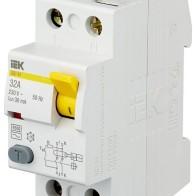 Купить УЗО IEK 30мА тип AC ВД1-63 MDV10-2 2 полюса 32 А по низкой цене с доставкой из маркетплейса Беру