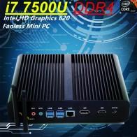 17825.46 руб. 36% СКИДКА|Inte Core i7 8550U i7 7500U DDR4 безвентиляторный мини ПК Intel HD Graphics 620 Win10 Pro Kaby Lake мини ПК HTPC DP + HDMI-in Мини-ПК from Компьютер и офис on Aliexpress.com | Alibaba Group