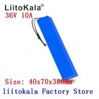 LiitoKala 36 В 10Ah 42 в 18650 комплект литий ионный батарей с 20A BMS для электровелосипеда электрический автомобиль велосипед мотор скутер 600 ватт-in Комплекты батарей from Бытовая электроника on AliExpress