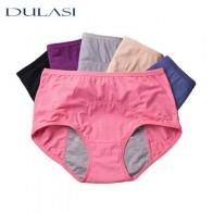 Физиологические брюки герметичные дышащие менструальные трусы для женщин сексуальные со средней талией теплые медицинские записки DULASI - Лучшая одежда для женщин с Али