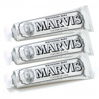 Набор Отбеливающая зубная паста с мятой Bundle Marvis Whitening Mint Toothpaste (3 х 85 мл)