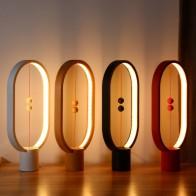 US $19.95 30% OFF Heng Balance Lamp LED Night Light Indoor Decoration ABS Material Lovely Desk Light 48pcs LEDs Brightness Night Light USB-in Desk Lamps from Lights & Lighting on Aliexpress.com   Alibaba Group
