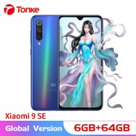 US $295.42 22% OFF|Global Version Xiaomi cellphone Mi 9 SE 6GB 64GB   Snapdragon 712 Octa Core 48MP Triple Camera 5.97