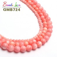 US $1.39 33% OFF|4/6/8mm Pink Freshwater Shell Round Beads Dyed Natural Stone Beads For Jewelry Making 15inches Spacer Beads Making Bracelet-in Beads from Jewelry & Accessories on Aliexpress.com | Alibaba Group