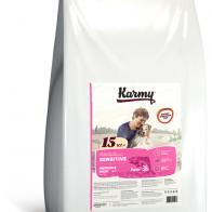 Отзывы и обзоры на Сухой корм для собак Karmy для здоровья кожи и шерсти, лосось 15 кг - Маркетплейс Беру