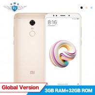9795.05 руб. |Глобальная версия Xiaomi Redmi 5 плюс 3 ГБ Оперативная память 32 ГБ Встроенная память 5,99