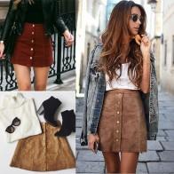 Женская юбка с пуговицами  купить в интернет-магазине Pandao.ru по цене 459 руб.