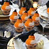 12шт Хэллоуин декоративная рамка для кекса