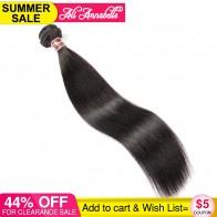 1539.19 руб. 44% СКИДКА|Али ANNABELLE волосы, бразильские прямые человеческие волосы для наращивания на 100% Волосы remy пучки волос плетение 1/3/4 шт. натуральный черный 10