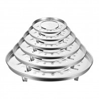 US $2.24 30% OFF Stainless Steel Steamer Rack Insert Stock Pot Steaming Tray Stand Cookware Tool Cake Cooling Tray-in Steamers from Home & Garden on Aliexpress.com   Alibaba Group