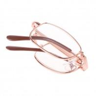 77.82 руб. 23% СКИДКА|Ботинки в стиле унисекс; женские и мужские 1 шт. складные металлические очки для чтения + 1,00 1,50 2,00 2,50 3,00 3,50 4,00 диоптрий + чехол-in Мужские очки для чтения from Одежда аксессуары on Aliexpress.com | Alibaba Group