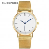 US $2.57 40% OFF|Drop Shipping 2019 Top Selling Women Watch Brand Luxury Gold Silver Quartz Watch Men Mesh Steel Watches Relogio Feminino Clock-in Women