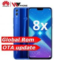 40009.7 руб. |Глобальная ПЗУ Honor 8X OTA обновление smartmobile Kirin 710 Восьмиядерный Android 8,1 сканер отпечатков пальцев 6,5