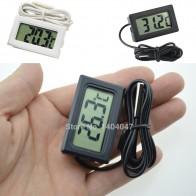 57.15 руб. 11% СКИДКА|1 шт. Мини ЖК дисплей инкрустация цифровой термометр датчик для холодильника/температура аквариума тестер ( 50C ~ 110C)-in Приборы для измерения температуры from Орудия on Aliexpress.com | Alibaba Group
