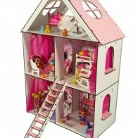 Кукольный домик FANA для кукол LOL c мебелью LITTLE FUN maxi (2106)