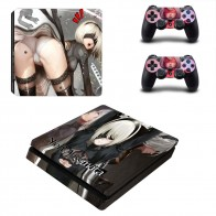 US $8.99 10% OFF|Game NieR Automata PS4 Slim Skin Sticker Decal for Sony PlayStation 4 Console and Controller Skin PS4 Slim Skins Sticker Vinyl-in Stickers from Consumer Electronics on Aliexpress.com | Alibaba Group