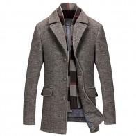 4396.47 руб. |Одноцветное цвет новый 2018 Повседневная куртка осень зима модные бизнес Полушерстяное пальто для мужчин верхняя одежда плюс размеры 5XL WS & D-in Куртки from Мужская одежда on Aliexpress.com | Alibaba Group