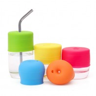 US $1.53 23% OFF|Silicone Cup Cover Glassware Lid Spill Proof Sippy Cups Straw Lids Kitchen Supplies copo Accessories For Baby Toddlers And Kids-in Teacup & Saucer Sets from Home & Garden on Aliexpress.com | Alibaba Group