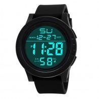 116.04 руб. 18% СКИДКА|Часы Для мужчин светодио дный Водонепроницаемый Цифровые наручные часы залить 2018 мужской военной Спорт часы двойной Дисплей Дата часы челнока F529 купить на AliExpress