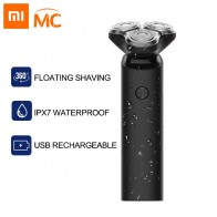 Xiaomi Mijia Electric Shaver Razor for Men Beard Hair Trimmer Rechargeable 3D Head Dry Wet Shaving Machine Washable Dual Blade-in Electric Shavers from Home Appliances on AliExpress