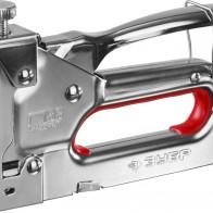 Скобозабивной регулируемый металлический пружинный пистолет, тип 53, 4-14мм Зубр МАСТЕР 31563_z01