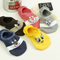 US $0.92 29% OFF|Summer Cartoon Cotton Thin Women Boat Socks Creative Casual Cotton Funny Animals Socks for Female Cute Kawayi Girls New  Acrylic-in Sock Slippers from Underwear & Sleepwears on Aliexpress.com | Alibaba Group