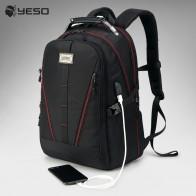 5064.26 руб. |YESO usb зарядка рюкзак для мужчин большой емкости Многофункциональный подростковый водонепроницаемый Оксфорд рюкзаки для ноутбука для путешествий для женщин мужчин сумка-in Рюкзаки from Багаж и сумки on Aliexpress.com | Alibaba Group